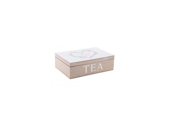 corazon krabička na čaj
