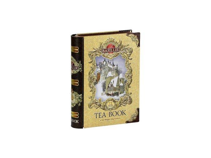 29312 basilur kniha gold cejlonsky cerny sypany caj s prichuti 100g