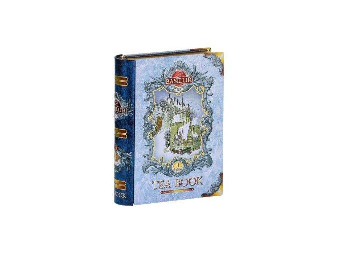 29315 1 basilur kniha blue sypany cerny caj s prichuti 100g