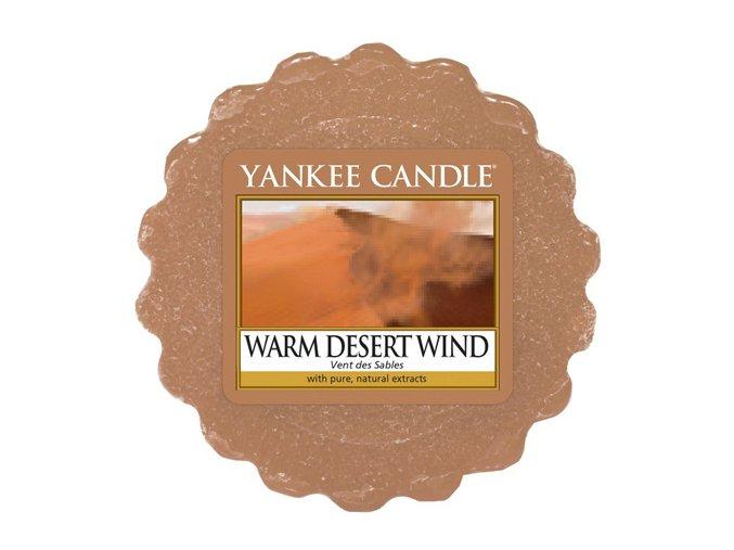 teplý pouštní vítr