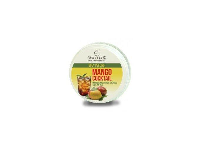 peeling mango coctail