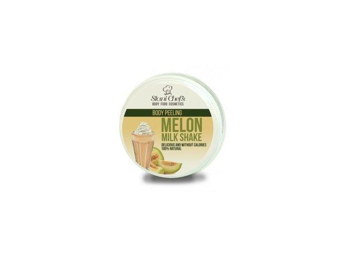 melon milk shake peeling