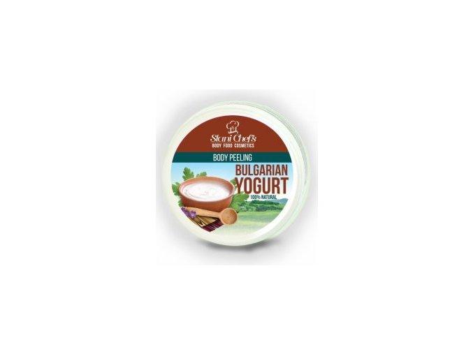 peeling bulharský jogurt