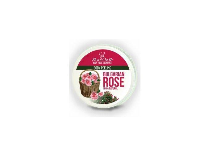 peeling bulharská růže