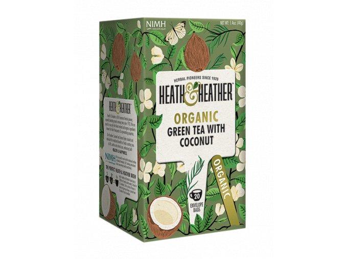 zeleny caj s kokosem 40 g