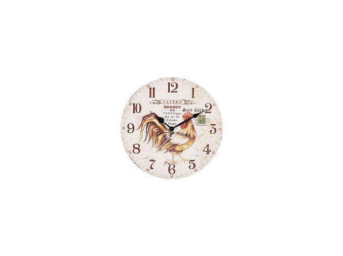hodiny kohout