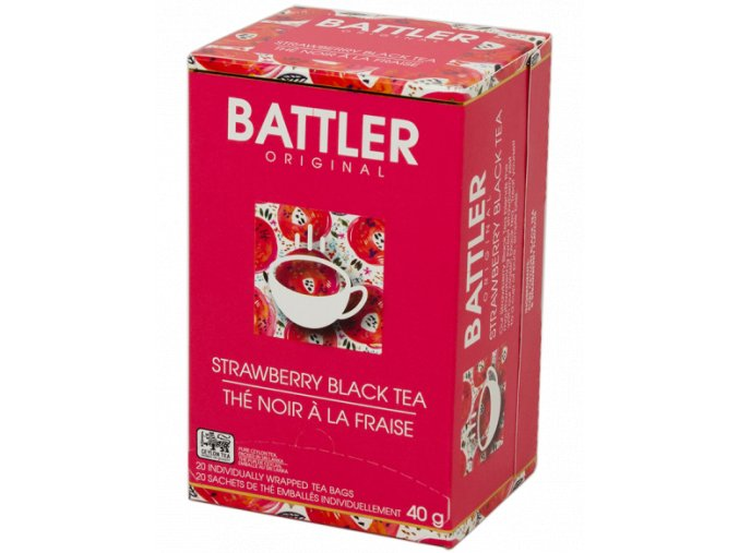 strawberry black tea 20x2g
