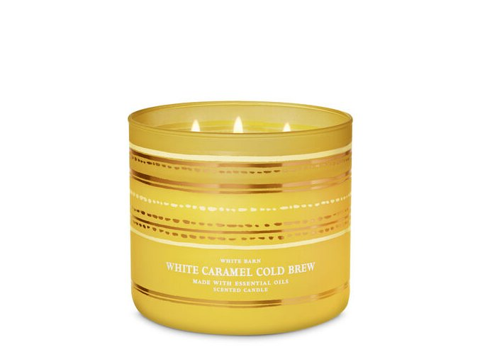WHITE CARAMEL COLD BREW BATH AND BODY WORKS