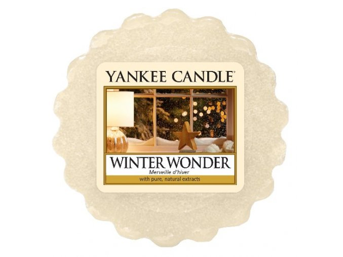 winter wonder yankee candle vonný vosk