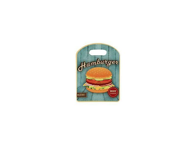 keramické prkénko hamburger
