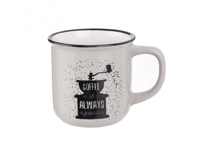 COFFEE BÍLÝ HRNEK