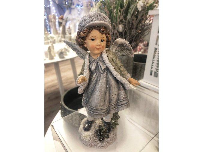 vánoční děvčátko křídla