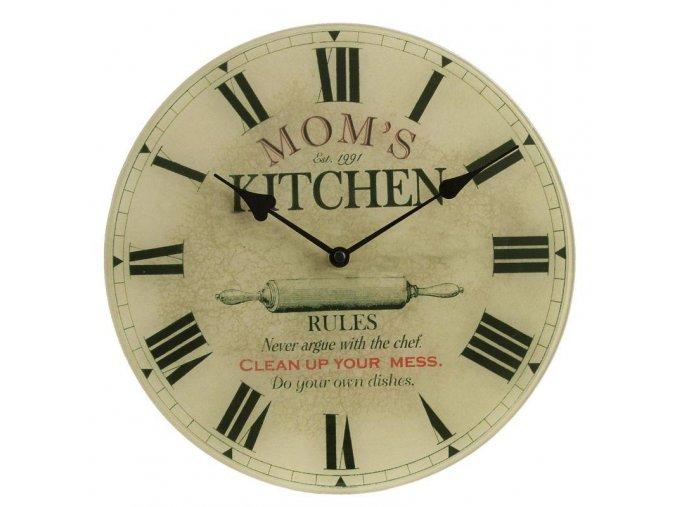 mamina kuchyně hodiny