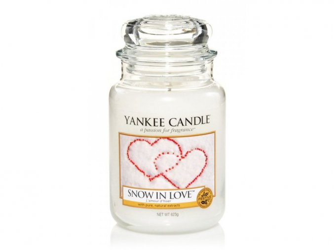 yankee candle vonna svicka snow in love