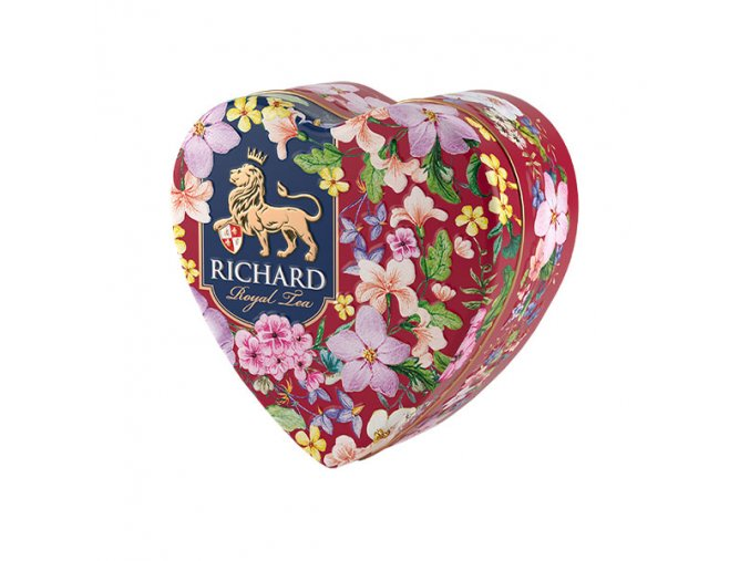 richard royal heart 30g sypany caj cervene