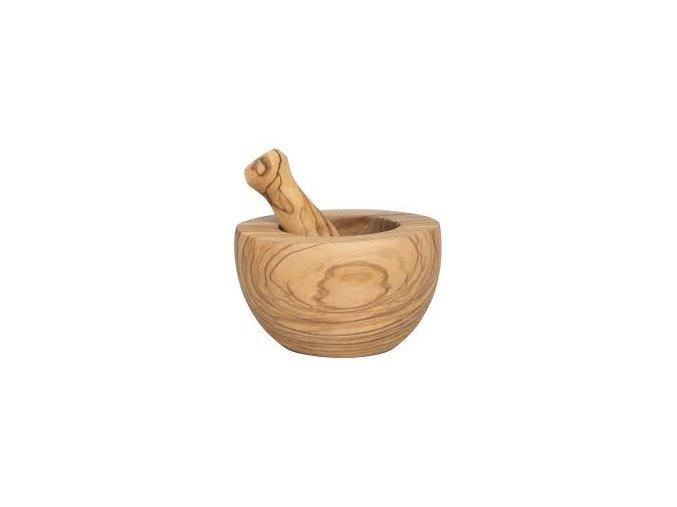 hmoždíř z oliv dřeva