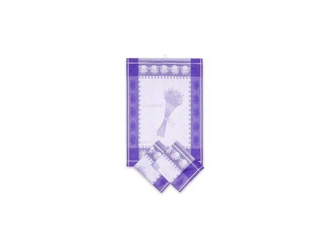 UTERKA Z EGYPTSKE BAVLNY ZAKAROVE TKANA LEVANDULE SNOP 5ecd07c856b9a