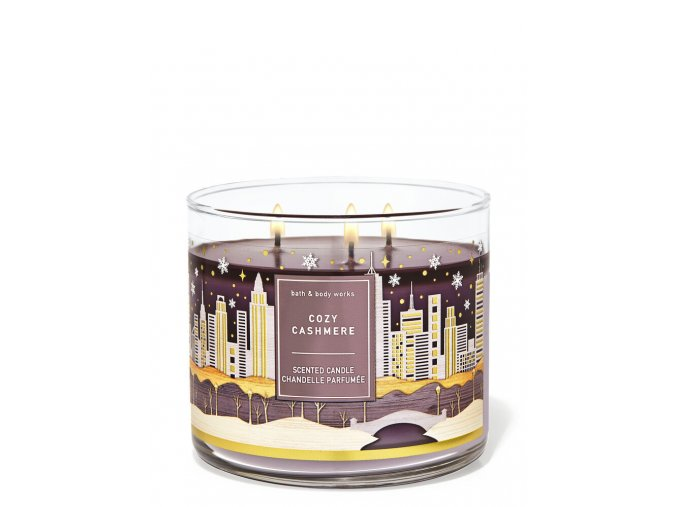 cozy cashmere bbw vonná svíčka