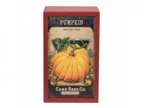 dreveny box pumpkin 20912 cm