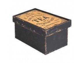 dreveny box tea 18119 cm