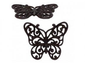 litinova podlozka motyl 21181 cm