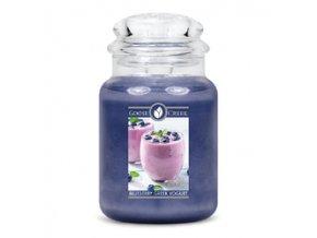 řecký borůvkový jogurt