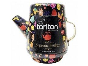 36219 tarlton tea pot supreme fantasy black tea plech 100g