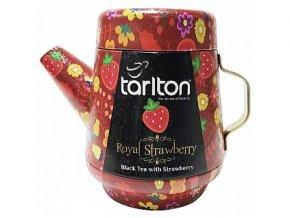 36216 tarlton tea pot royal strawberry black tea plech 100g