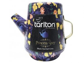 36954 tarlton tea pot princess grey black tea plech 100g