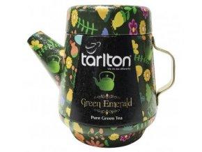 36957 tarlton tea pot green emerald green tea plech 100g