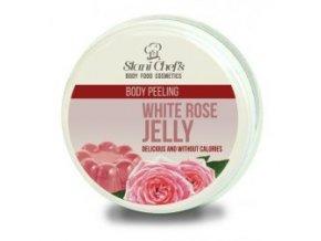 peeling white rose jelly