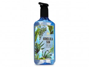 bath body works gelove mydlo honolulu sun