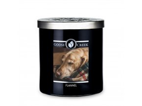 flannel candle for men goose creek