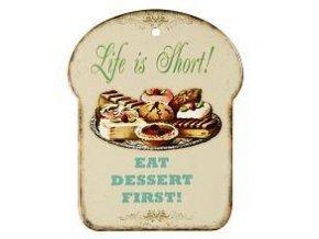 keramické prkénko dessert