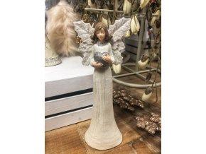andělka srdíčko