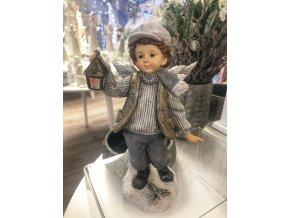 vánoční chlape s lucernou
