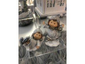 vánoční figurky dětí