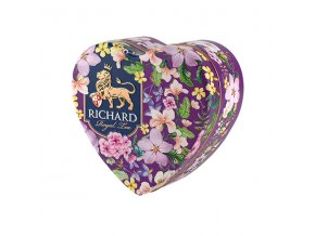 richard royal heart 30g sypany caj fialove