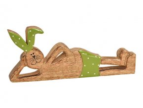 králík ležící