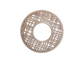 gold punched metal