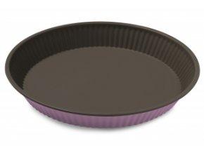 forma na koláč 28 cm růžová