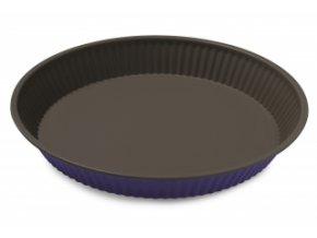 forma na koláč 28 cm fialová