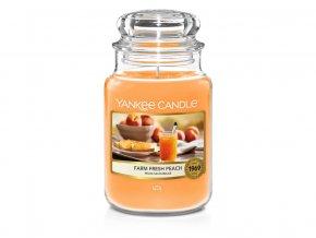 Yankee Candle - FARM FRESH PEACH 623g
