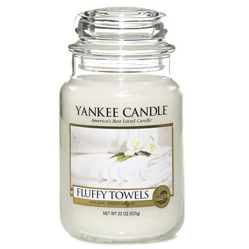 Yankee Candle - Fluffy Towels 623g