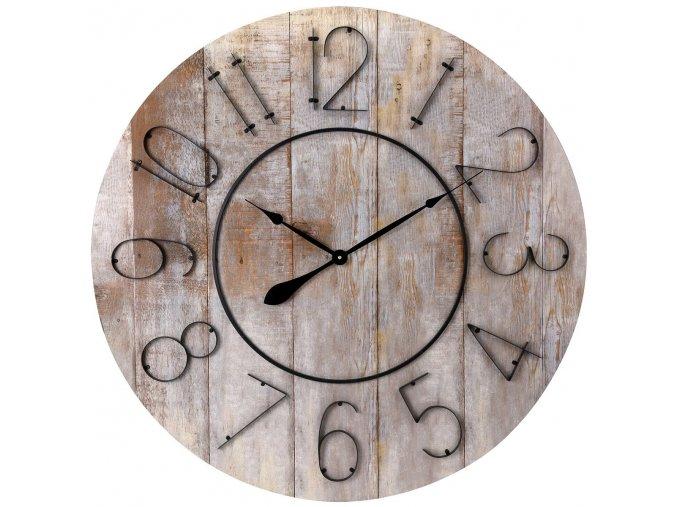Hodiny dřevěné 88 cm