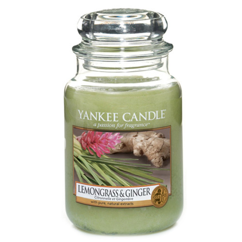 Yankee Candle - Lemongrass Economy & Ginger 623g