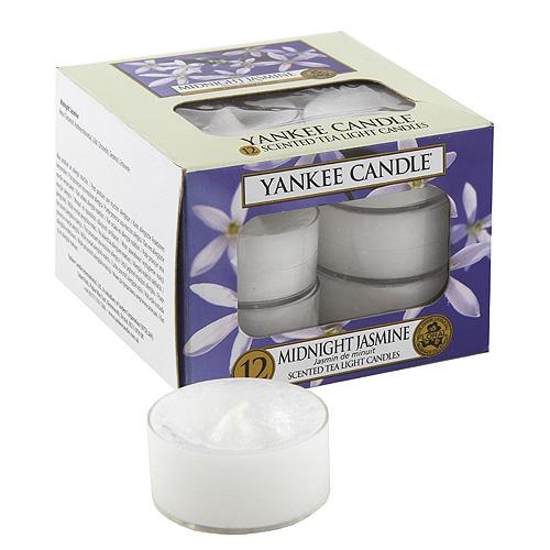 Yankee Candle - čajové svíčky - Midnight Jasmine