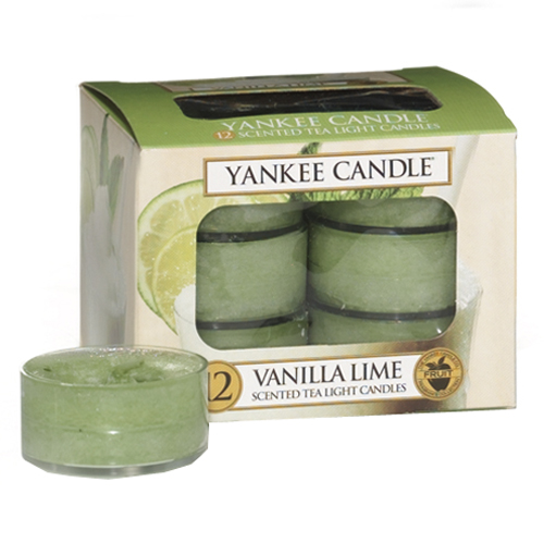 Yankee Candle - čajové svíčky - Vanilla Lime