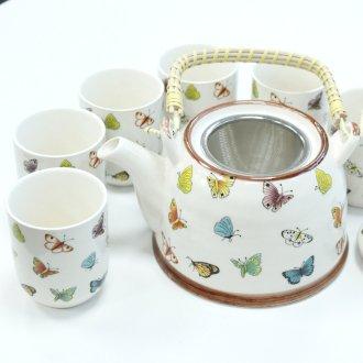 Čajová souprava motýli