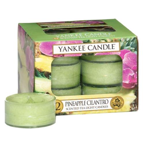 Yankee Candle - čajové svíčky - Pineapple Cilantro